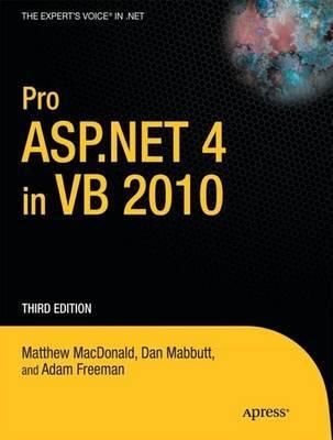 Pro ASP.NET 4 in VB 2010 by Matthew MacDonald image