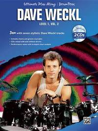 Ultimate Play-Along for Drums: Level 1, v. 2 by Dave Weckl image