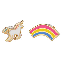 Yellow Owl Workshop Unicorn & Rainbow Earrings