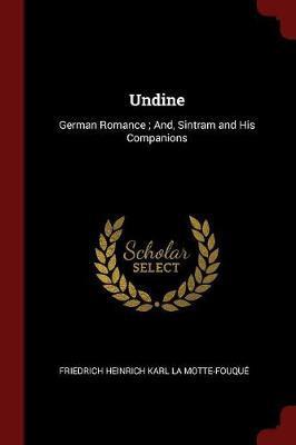 Undine by Friedrich Heinrich Kar La Motte-Fouque image