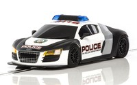 Scalextric: Audi R8 Police Slot Car