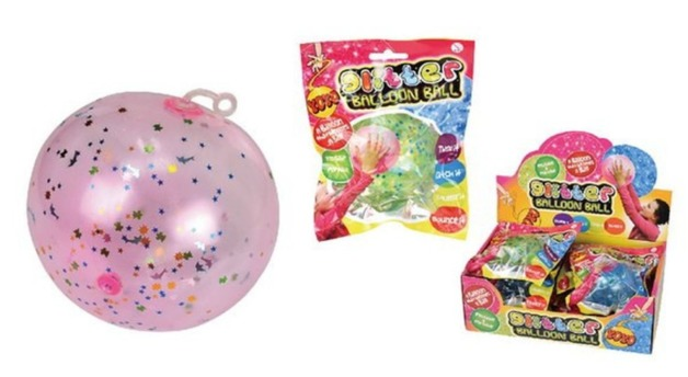 YoYo: Glitter Ballon Ball - (Assorted Designs)