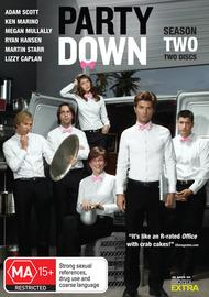 Party Down Season 2 (2 Disc Set) on DVD