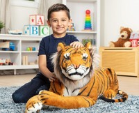 Melissa & Doug: Tiger Giant Stuffed Animal Plush image