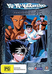 Yu Yu Hakusho: Ghost Files - Vol 23 Dangerous Games on DVD