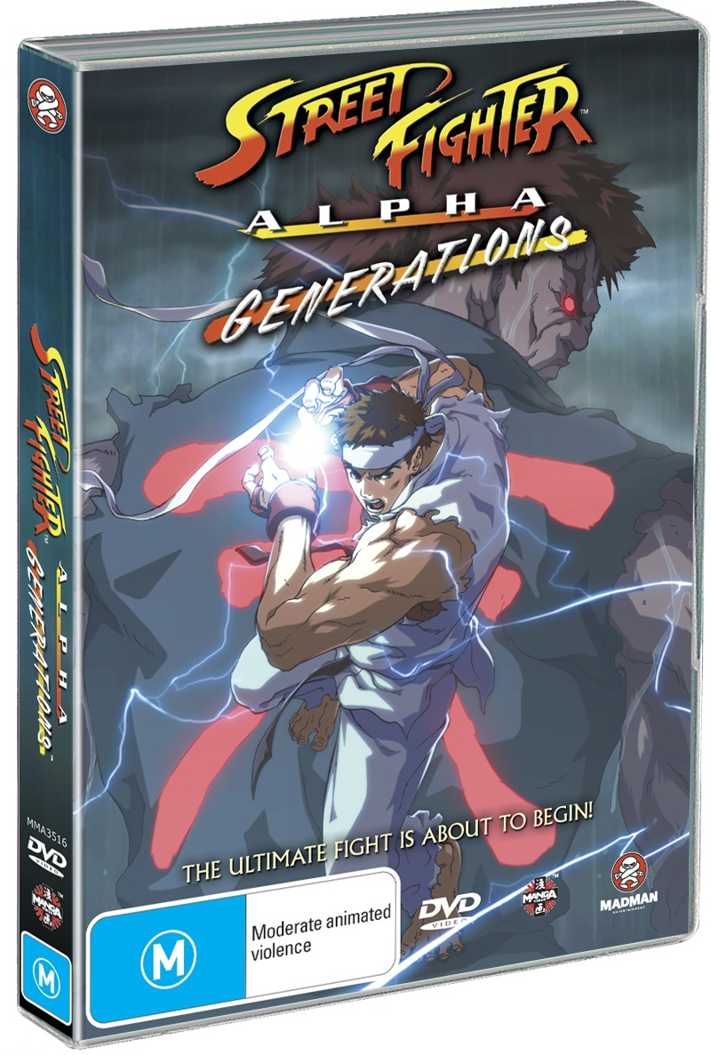 Street Fighter Alpha - Generations on DVD image