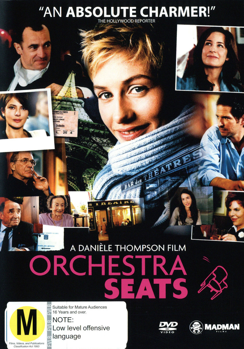 Orchestra Seats on DVD image