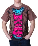X-Men Gambit Costume T-Shirt (Large)