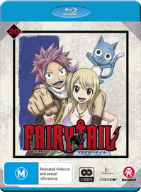 Fairy Tail Collection 20 (eps 227-239) on Blu-ray