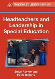 Headteachers and Leadership in Special Education by Peter Ribbins image