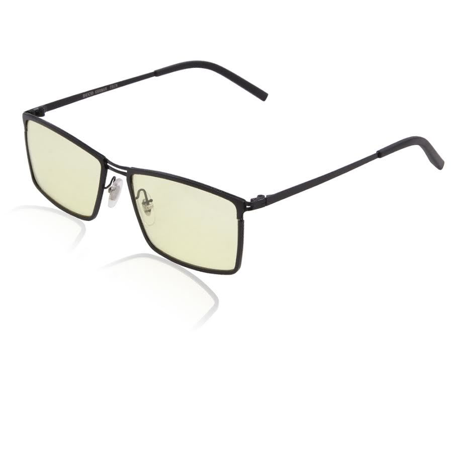 Duco Ergonomic Advanced Gaming Glasses - 2916 Black for PC Games image