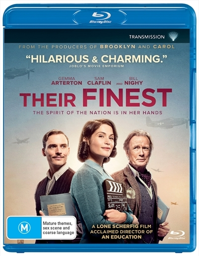 Their Finest on Blu-ray