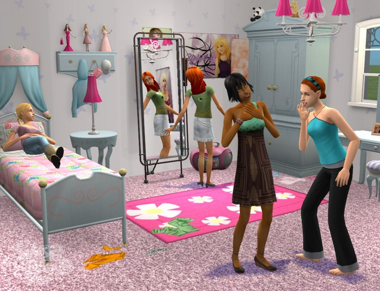 The Sims 2: Teen Style Stuff for PC Games image