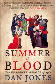 Summer of Blood by Daniel Jones image
