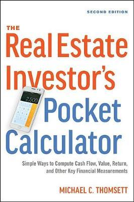 The Real Estate Investor's Pocket Calculator by Michael C Thomsett image