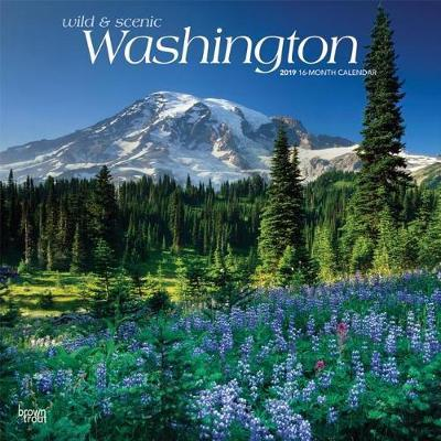Washington Wild & Scenic 2019 Square by Inc Browntrout Publishers