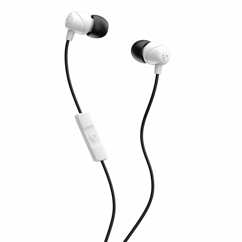 Skullcandy Jib In-Ear Earbuds - White/Black image