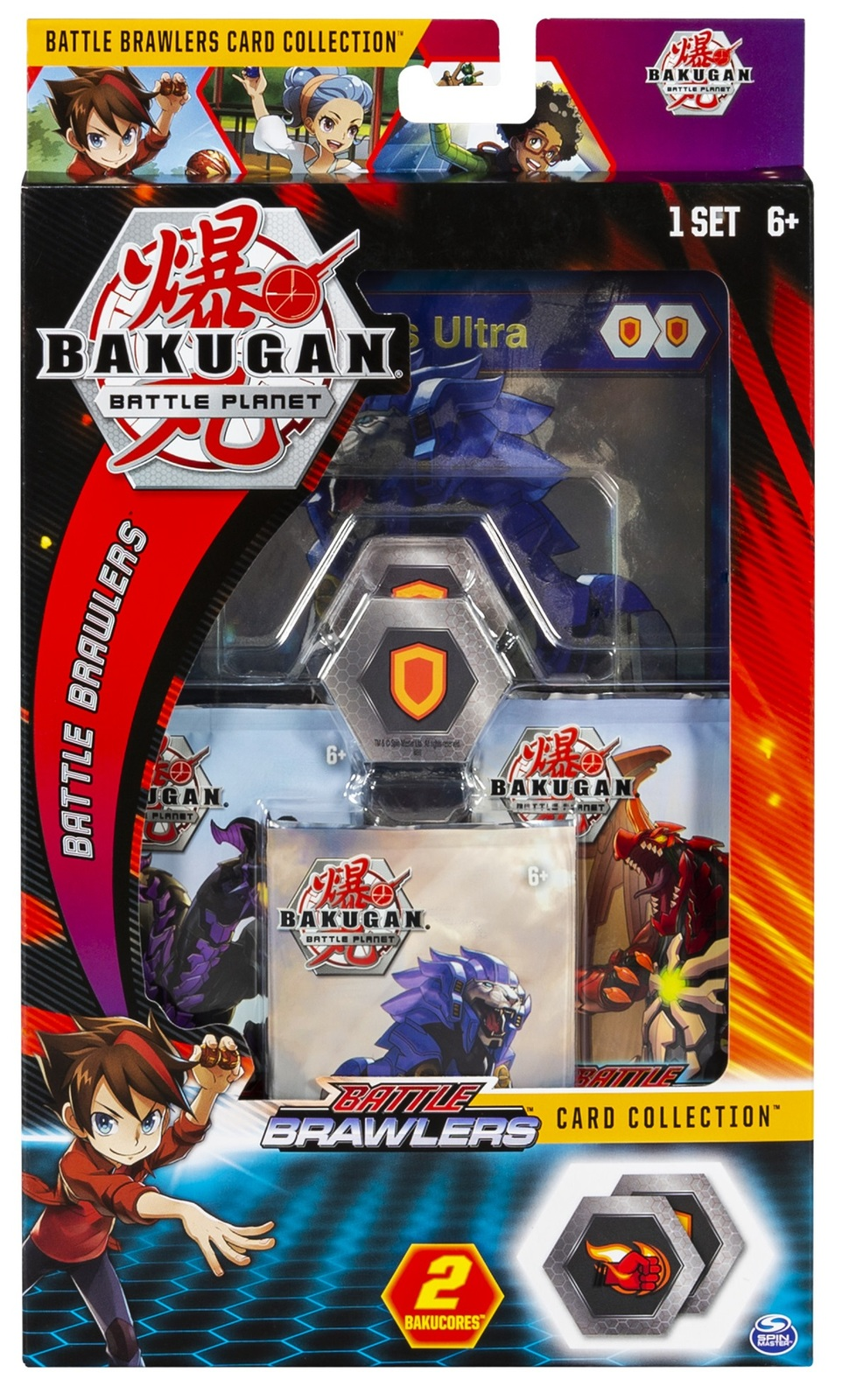 Bakugan: Battle Planet - Card Collector Pack (Hydorous Ultra) image