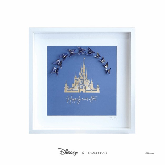 Disney: Large White Frame - Castle