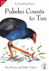 Pukeko Counts to Ten by Ben Brown image