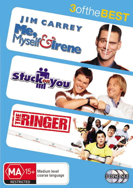 Me, Myself And Irene / Stuck On You / The Ringer - 3 Of The Best (3 Disc Set) on DVD