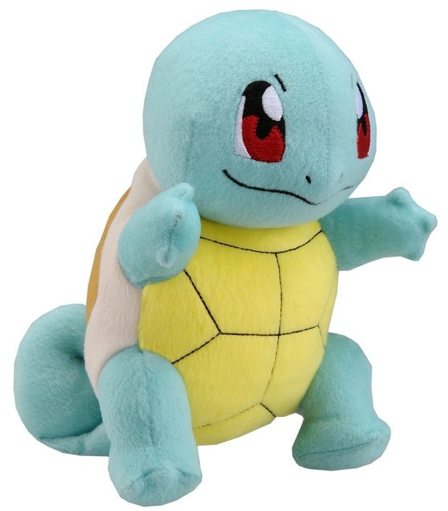 "Pokémon: 8"" Squirtle - Basic Plush"