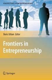 Frontiers in Entrepreneurship image