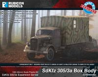 Rubicon 1/56 SdKfz 305/3a Expansion - Box Body (Expansion Kit)