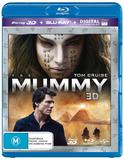 The Mummy (2 Disc Set) (2017) on Blu-ray, 3D Blu-ray