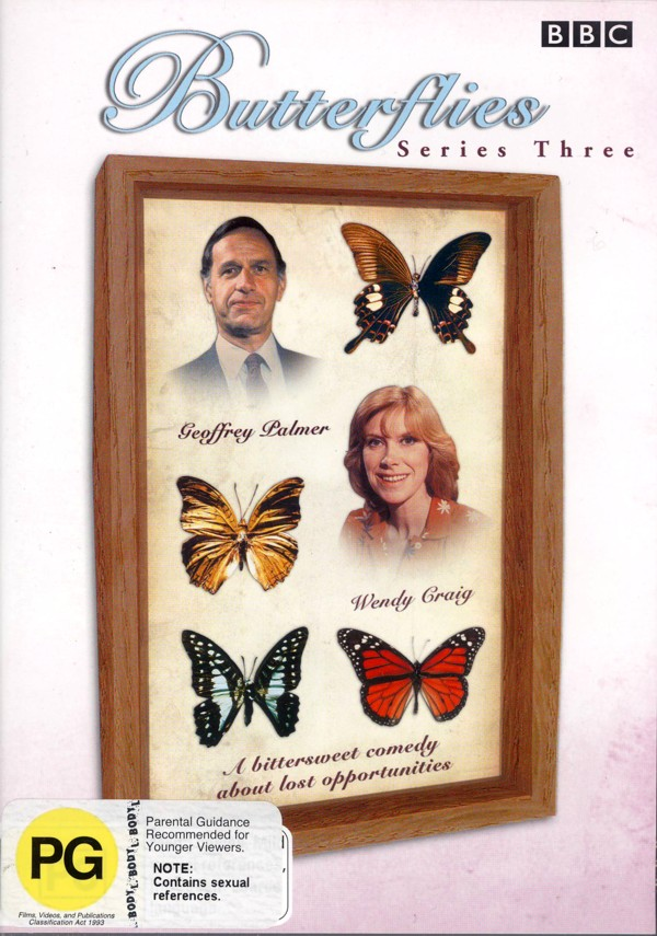 Butterflies - Series 3 (2 Disc) on DVD image