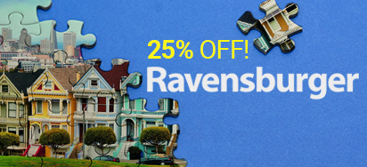 25% off Ravensburger