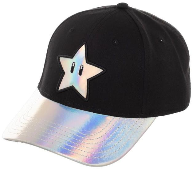 f2adb7e5524b8 Super Mario Bros  Super Star - Satin Embroidered Cap