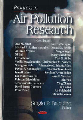 Progress in Air Pollution Research by Sergio P. Balduino image