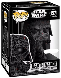 Star Wars - Darth Vader (Futura) Pop! Vinyl Figure + Protector