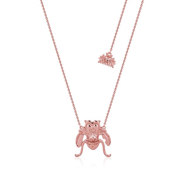 Couture Kingdom: Disney Mulan Mushu Necklace Rose Gold
