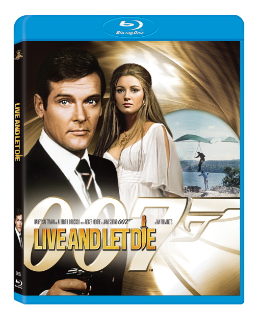 Bond: Live and Let Die on Blu-ray image