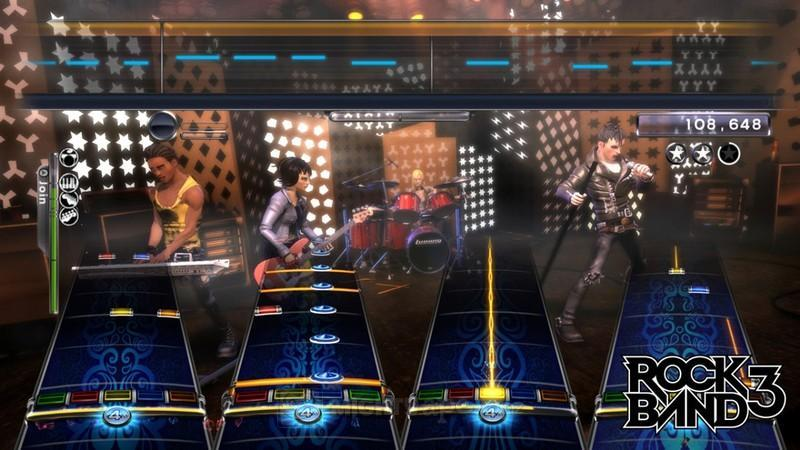 Rock Band 3 (Game Only) (ex display) for X360 image