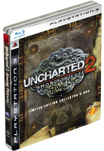 Uncharted 2: Among Thieves Limited Edition for PS3