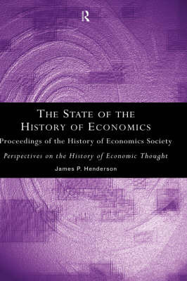 The State of the History of Economics
