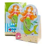 Magical Mermaid Party Invitations & Envelopes