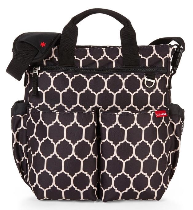 Skip Hop: Duo Signature Diaper Bag - Onyx