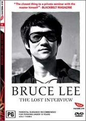 Bruce Lee - The Lost Interview on DVD