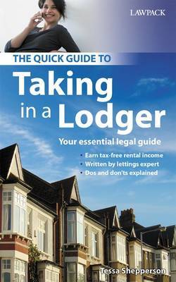The Quick Guide to Taking in a Lodger by Tessa Shepperson