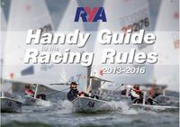 RYA Handy Guide to the Racing Rules 2013-2016 by Royal Yachting Association