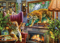 Holdson: 1000pce Art to Life Puzzle (Tigers are Coming)