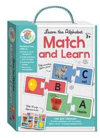 Building Blocks: Match and Learn Alphabet Cards