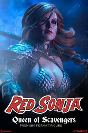 Red Sonja - Queen of Scavengers - Premium Format Figure