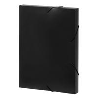 Marbig: A4 Document Box - Black
