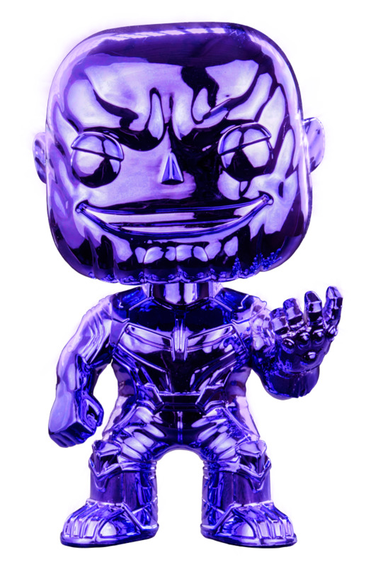 Avengers: Infinity War - Thanos (Dark Purple Chrome) Pop! Vinyl Figure