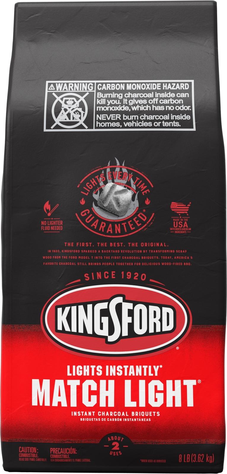 Kingsford *Match Light* Charcoal Briquettes (3.62KG) image